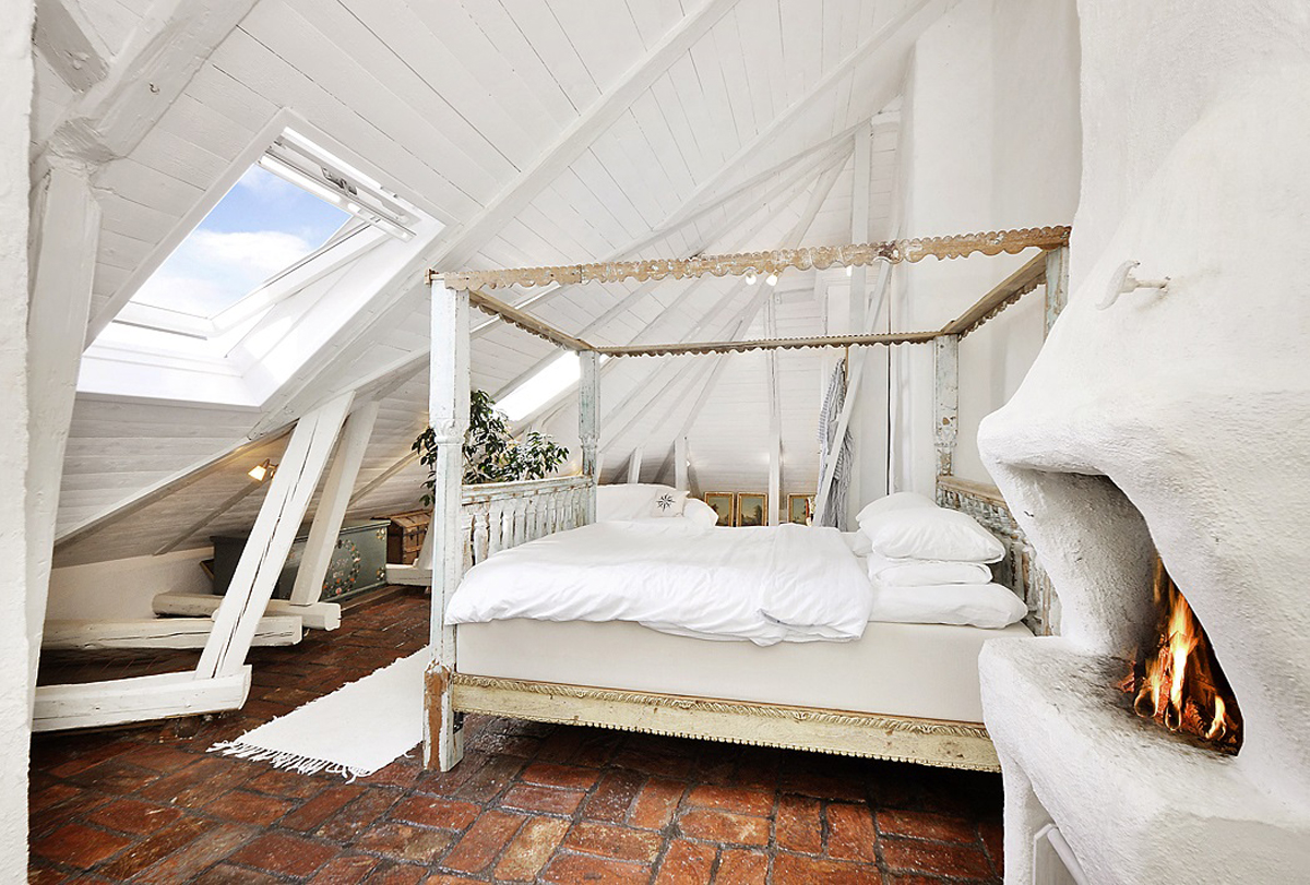 attic-apartments-with-shabby-chic-bedrooms   Dafinor